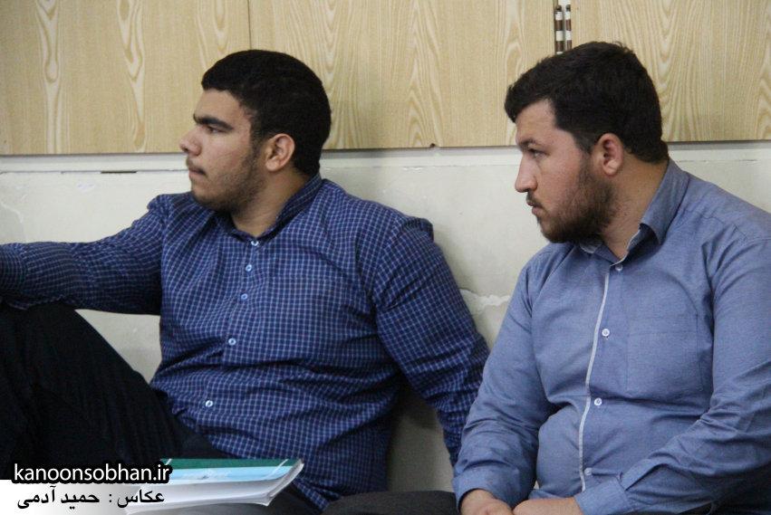 طلاب کوهدشتی با مدیر حوزه های علمیه لرستان (1)