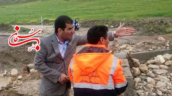 قطع شدن راه ارتباطی 50 روستای کوهدشت براثر سیل