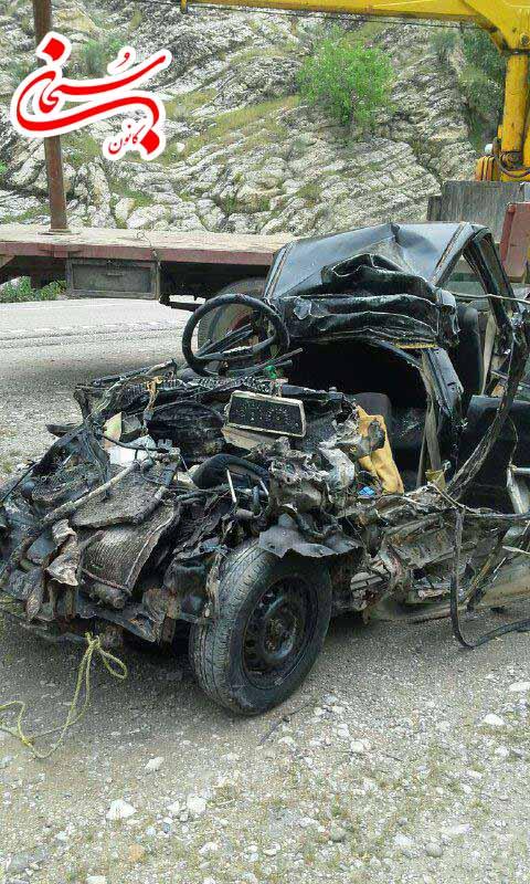6 کشته در تصادف جاده پلدختر - خرم آباد