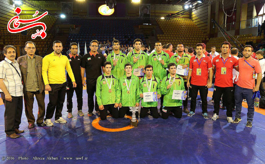 افتخار آفرینی تیم کشتی روح الله دل انگیز در مسابقات جهانی (2)
