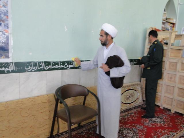 تصاویر آئین نمادین غباروبی مساجد کوهدشت (4)