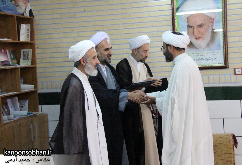 تصاویر بزرگداشت روز معلم حوزه علمیه کوهدشت در مرقد آیت الله مروجی(ره) (35)