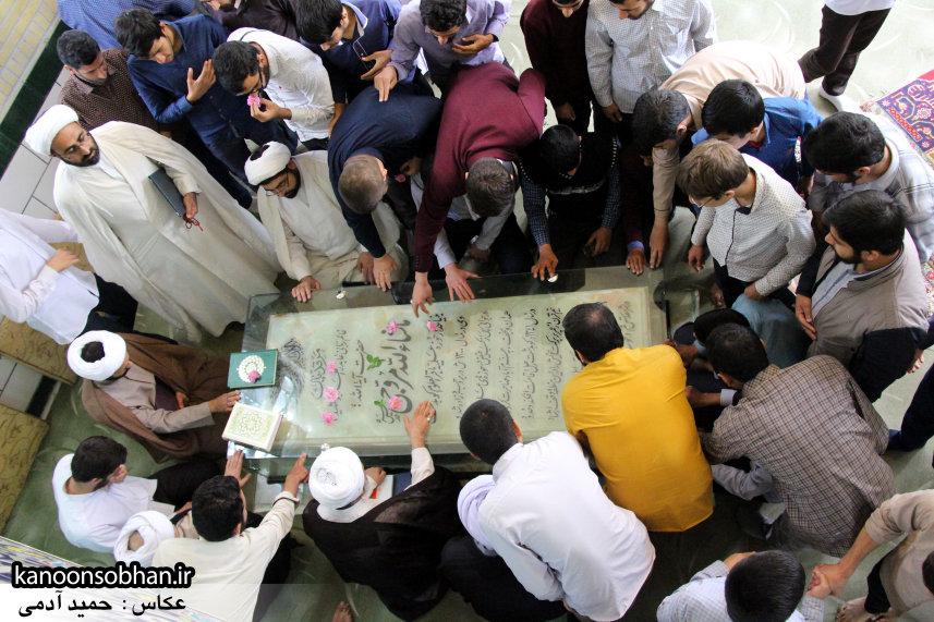 تصاویر بزرگداشت روز معلم حوزه علمیه کوهدشت در مرقد آیت الله مروجی(ره) (42)