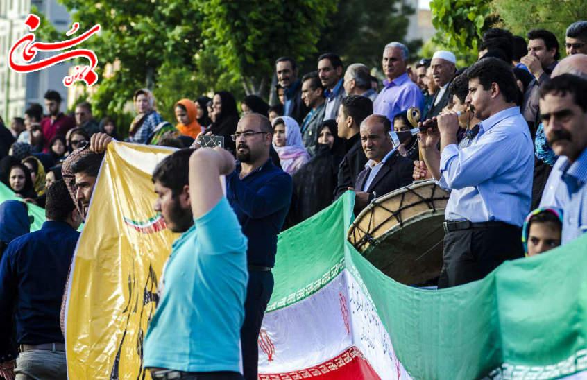 تصاویر جشن پیروزی محمدرضا ملکشاهی راد در خرم آباد لرستان (10)