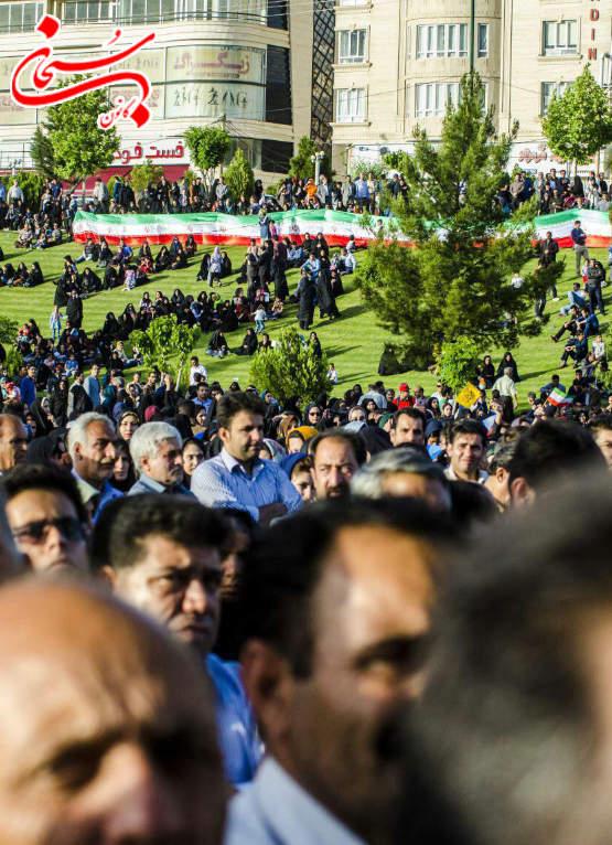 تصاویر جشن پیروزی محمدرضا ملکشاهی راد در خرم آباد لرستان (11)