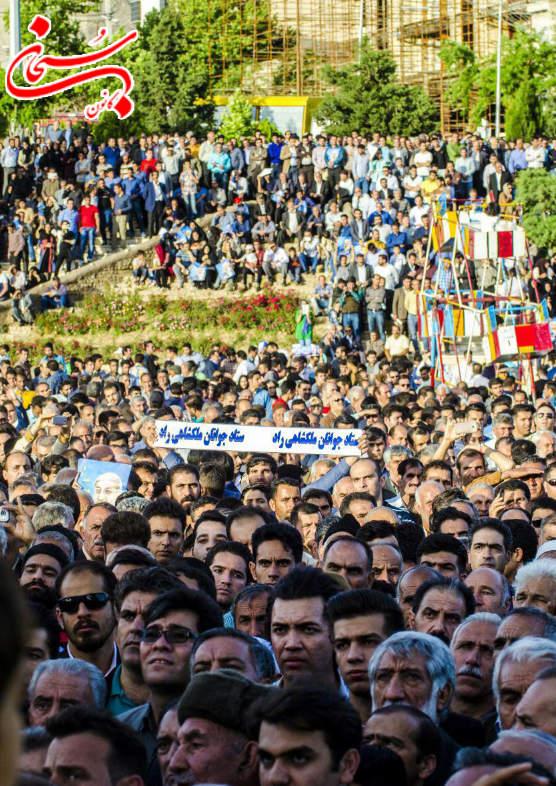 تصاویر جشن پیروزی محمدرضا ملکشاهی راد در خرم آباد لرستان (6)