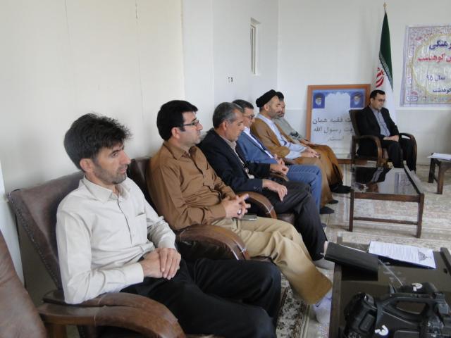 تصاویر جلسه ساماندهی شئونات فرهنگی در شهرستان کوهدشت (1)