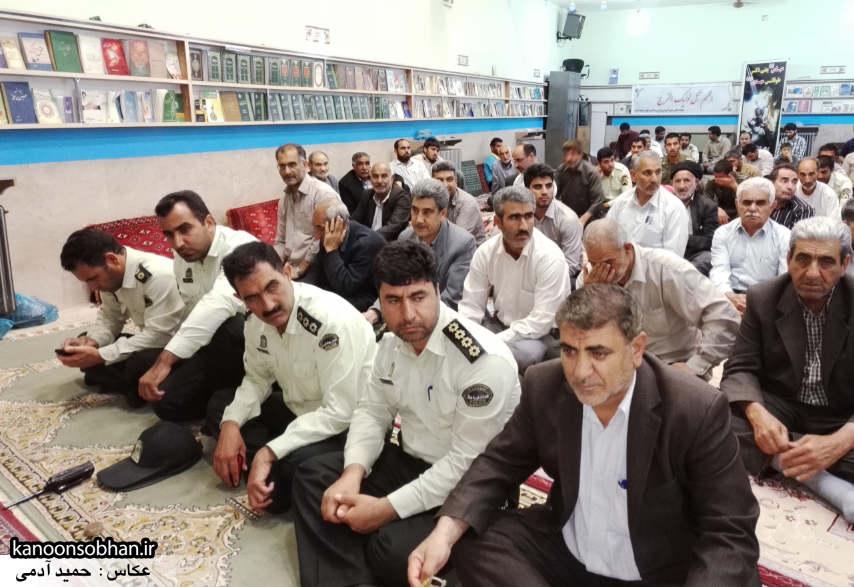 تصاویر جلسه شورای معتمد پلیس در مسجد جامع کوهدشت (2)