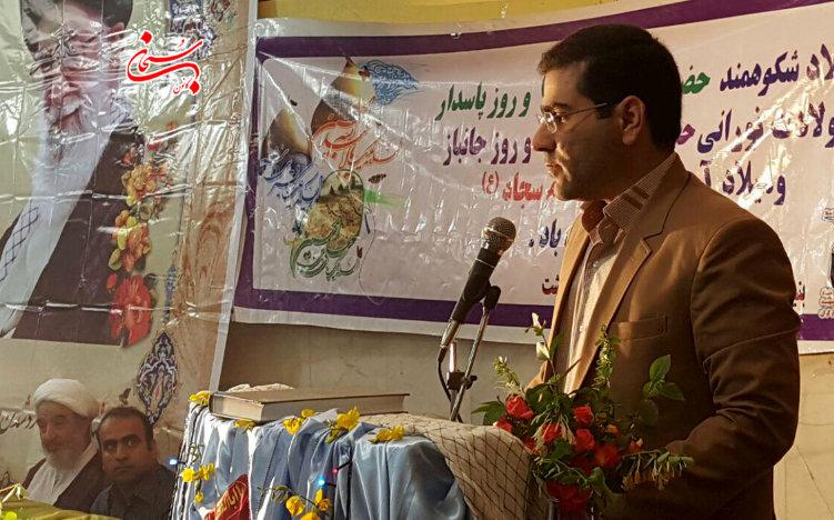 تصاویر مراسم جشن روز جانباز در اداره بنیاد شهید کوهدشت (2)