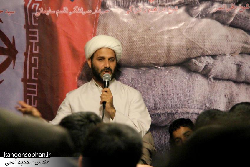 تصاویر مراسم شهادت امام موسی کاظم (ع) در جبهه فرهنگی کوهدشت (1)