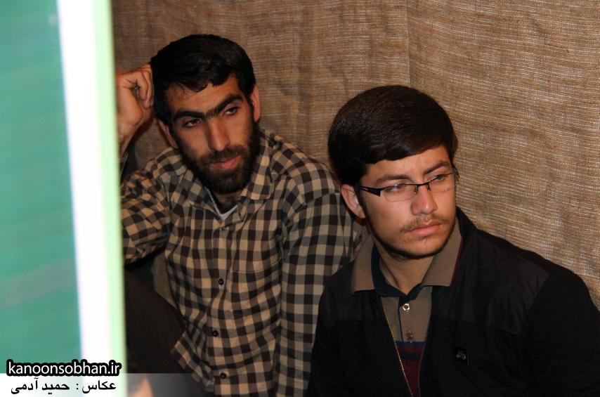تصاویر مراسم شهادت امام موسی کاظم (ع) در جبهه فرهنگی کوهدشت (11)