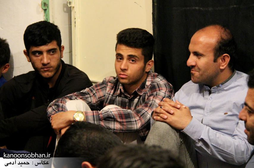تصاویر مراسم شهادت امام موسی کاظم (ع) در جبهه فرهنگی کوهدشت (2)