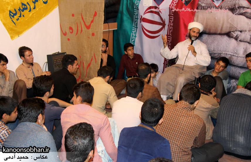 تصاویر مراسم شهادت امام موسی کاظم (ع) در جبهه فرهنگی کوهدشت (9)