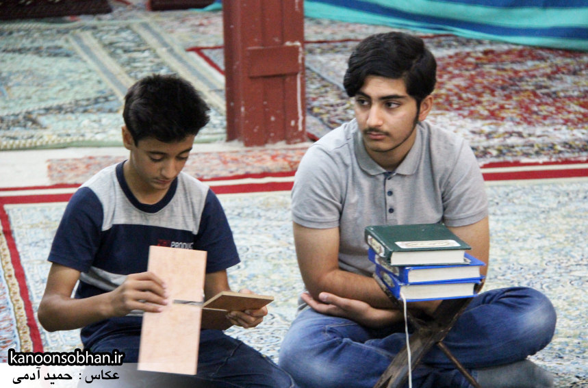 تصاویر برگزاری کلاس قرآن در مسجد جامع کوهدشت (3)