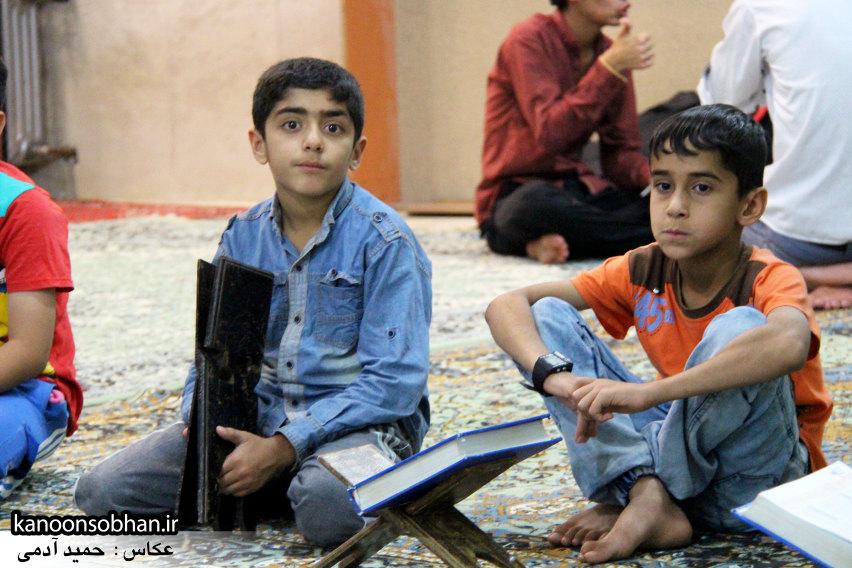 تصاویر برگزاری کلاس قرآن در مسجد جامع کوهدشت (9)
