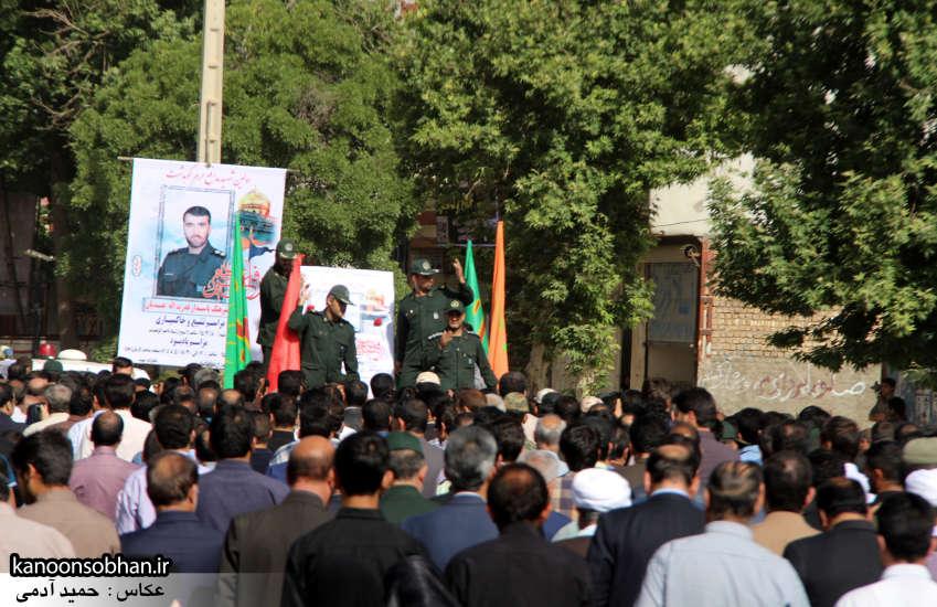 تصاویر تشییع و تدفین شهید والامقام «حاج قدرت الله عبدیان» در کوهدشت سری دوم (1)