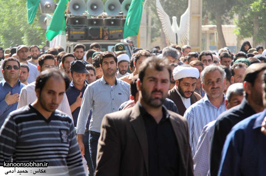 تصاویر تشییع و تدفین شهید والامقام «حاج قدرت الله عبدیان» در کوهدشت سری دوم (11)