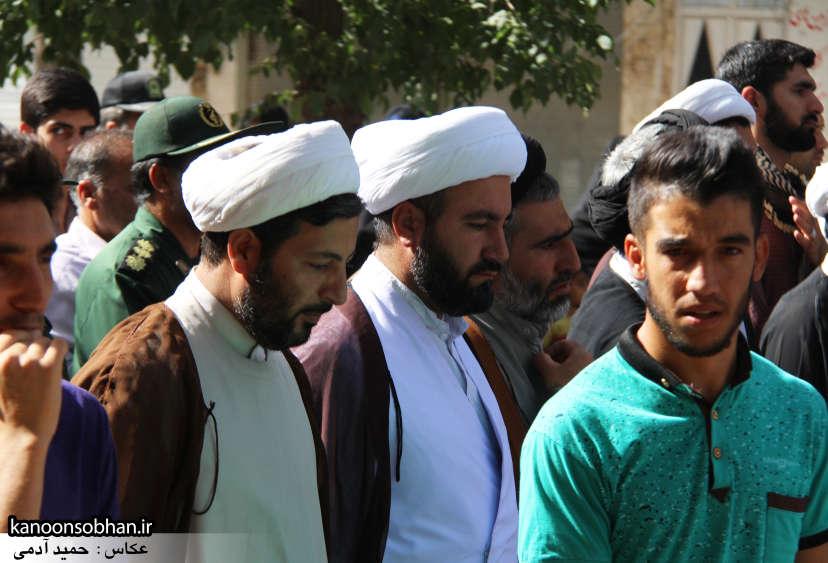 تصاویر تشییع و تدفین شهید والامقام «حاج قدرت الله عبدیان» در کوهدشت سری دوم (15)