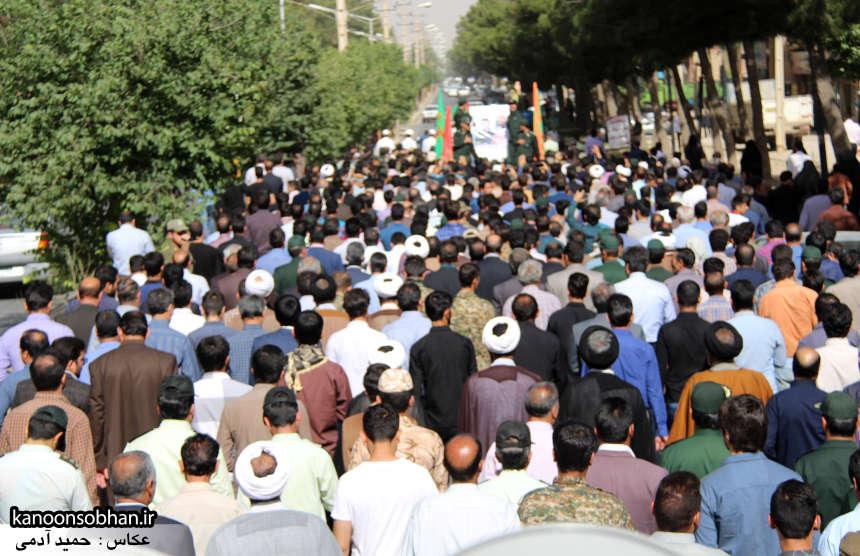 تصاویر تشییع و تدفین شهید والامقام «حاج قدرت الله عبدیان» در کوهدشت سری دوم (16)