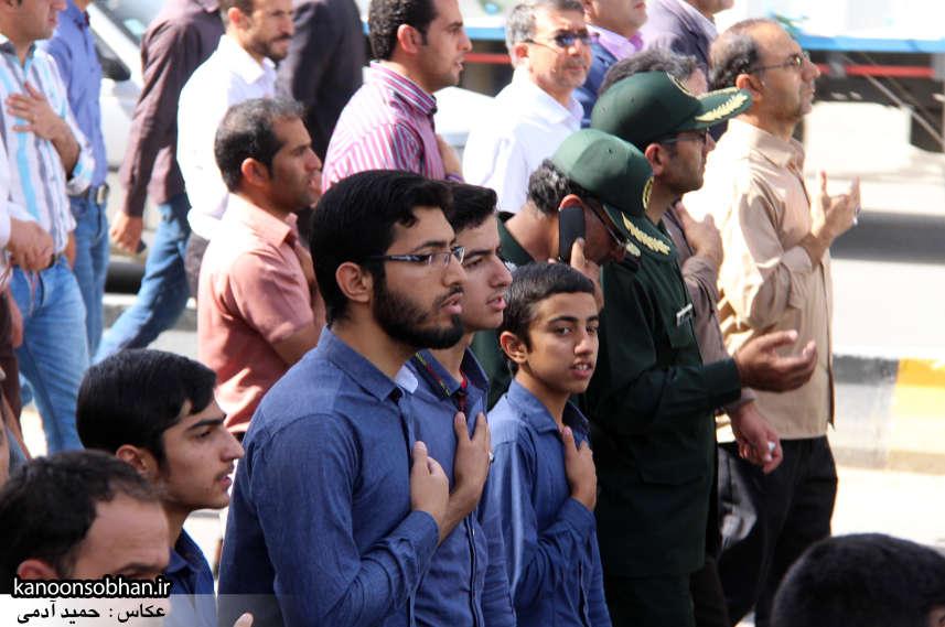 تصاویر تشییع و تدفین شهید والامقام «حاج قدرت الله عبدیان» در کوهدشت سری دوم (19)