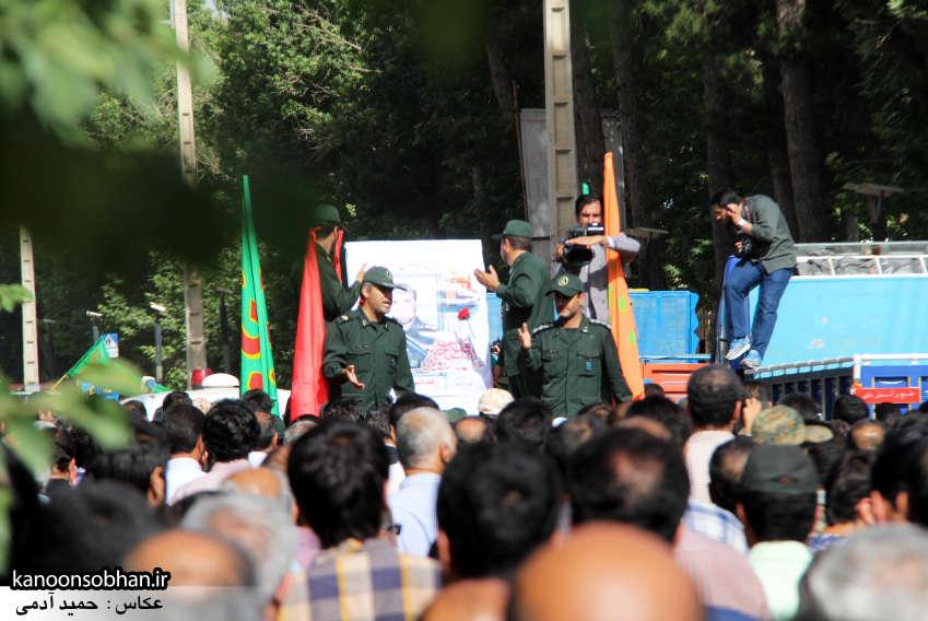 تصاویر تشییع و تدفین شهید والامقام «حاج قدرت الله عبدیان» در کوهدشت سری دوم (2)