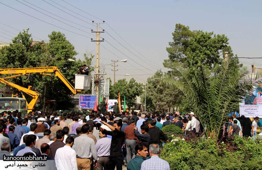 تصاویر تشییع و تدفین شهید والامقام «حاج قدرت الله عبدیان» در کوهدشت سری دوم (21)