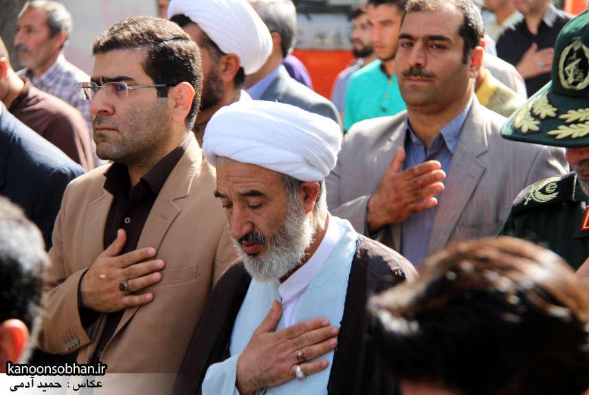 تصاویر تشییع و تدفین شهید والامقام «حاج قدرت الله عبدیان» در کوهدشت سری دوم (7)