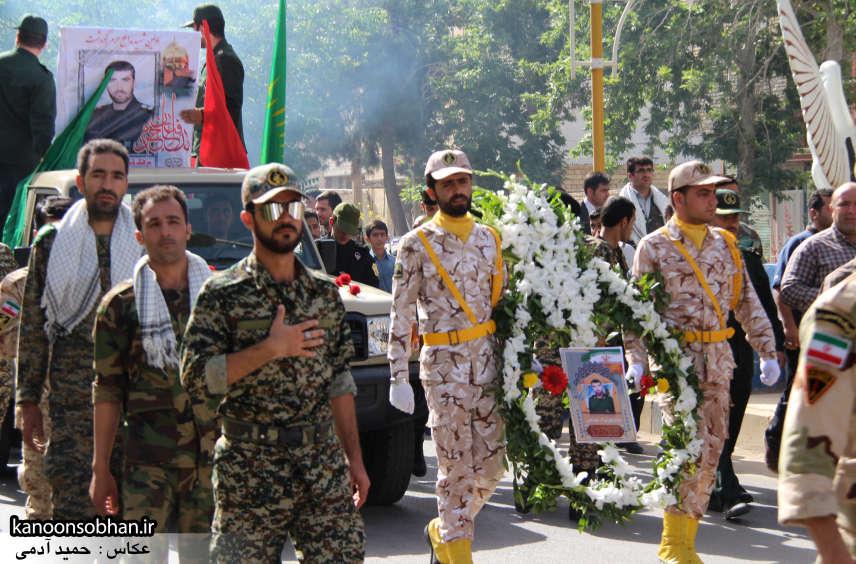 تصاویر تشییع و تدفین شهید والامقام «حاج قدرت الله عبدیان» در کوهدشت سری دوم (8)