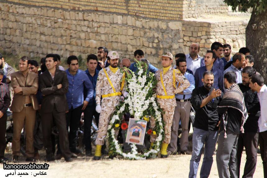تصاویر تشییع و تدفین شهید والامقام «حاج قدرت الله عبدیان» در کوهدشت سری سوم (1)