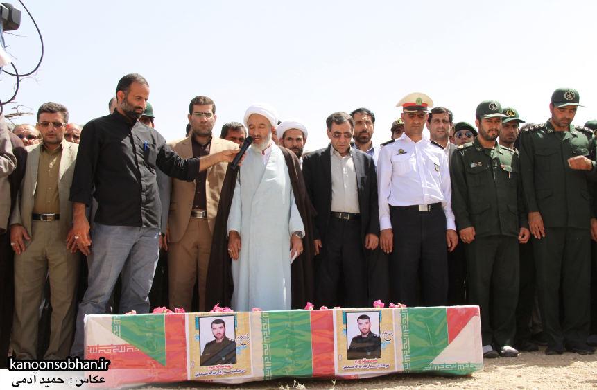 تصاویر تشییع و تدفین شهید والامقام «حاج قدرت الله عبدیان» در کوهدشت سری سوم (10)