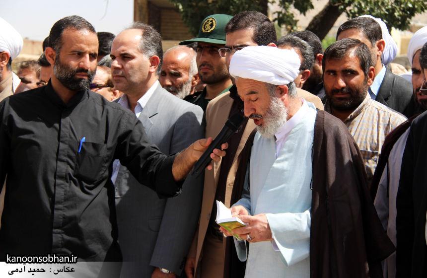 تصاویر تشییع و تدفین شهید والامقام «حاج قدرت الله عبدیان» در کوهدشت سری سوم (12)