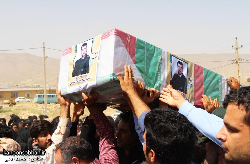 تصاویر تشییع و تدفین شهید والامقام «حاج قدرت الله عبدیان» در کوهدشت سری سوم (13)