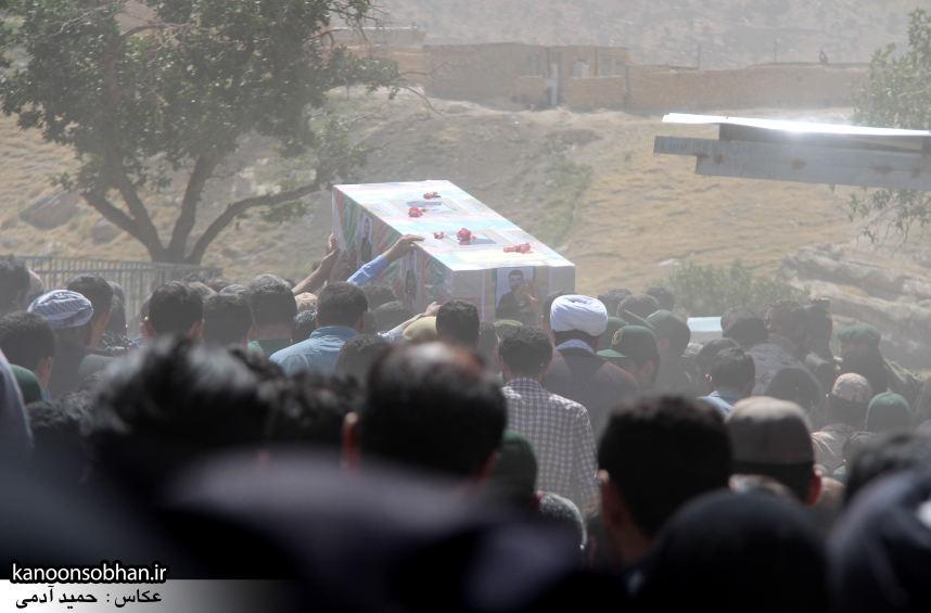 تصاویر تشییع و تدفین شهید والامقام «حاج قدرت الله عبدیان» در کوهدشت سری سوم (14)