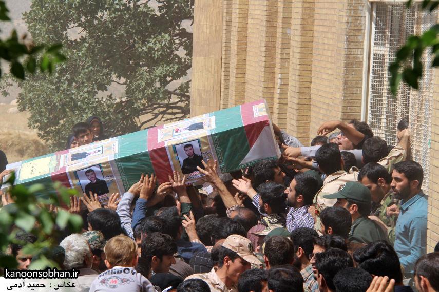 تصاویر تشییع و تدفین شهید والامقام «حاج قدرت الله عبدیان» در کوهدشت سری سوم (16)
