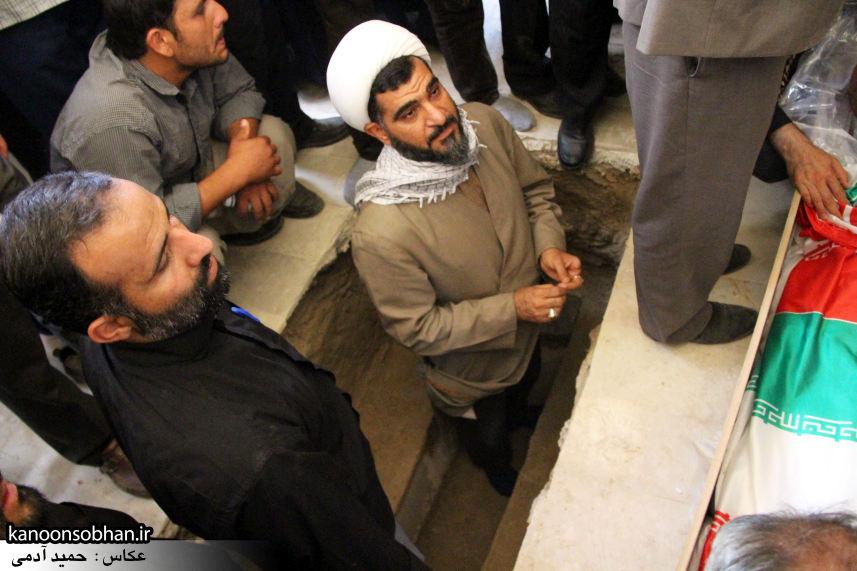 تصاویر تشییع و تدفین شهید والامقام «حاج قدرت الله عبدیان» در کوهدشت سری سوم (18)