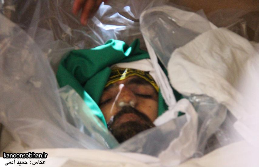 تصاویر تشییع و تدفین شهید والامقام «حاج قدرت الله عبدیان» در کوهدشت سری سوم (19)
