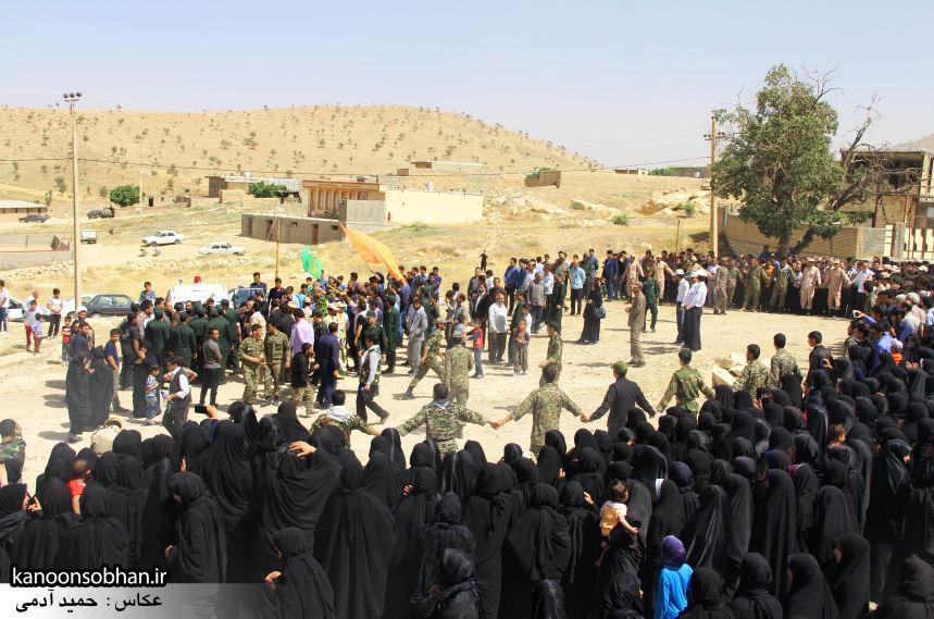 تصاویر تشییع و تدفین شهید والامقام «حاج قدرت الله عبدیان» در کوهدشت سری سوم (2)