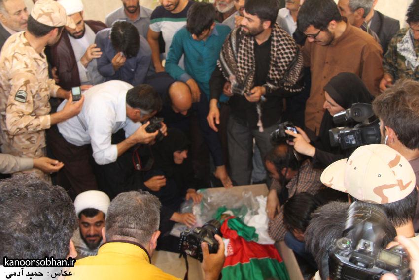 تصاویر تشییع و تدفین شهید والامقام «حاج قدرت الله عبدیان» در کوهدشت سری سوم (21)