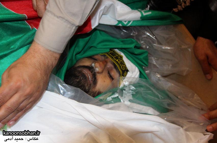 تصاویر تشییع و تدفین شهید والامقام «حاج قدرت الله عبدیان» در کوهدشت سری سوم (22)
