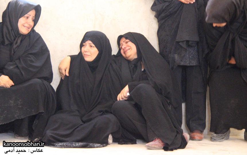 تصاویر تشییع و تدفین شهید والامقام «حاج قدرت الله عبدیان» در کوهدشت سری سوم (25)