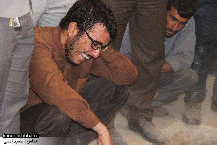 تصاویر تشییع و تدفین شهید والامقام «حاج قدرت الله عبدیان» در کوهدشت سری سوم (28)