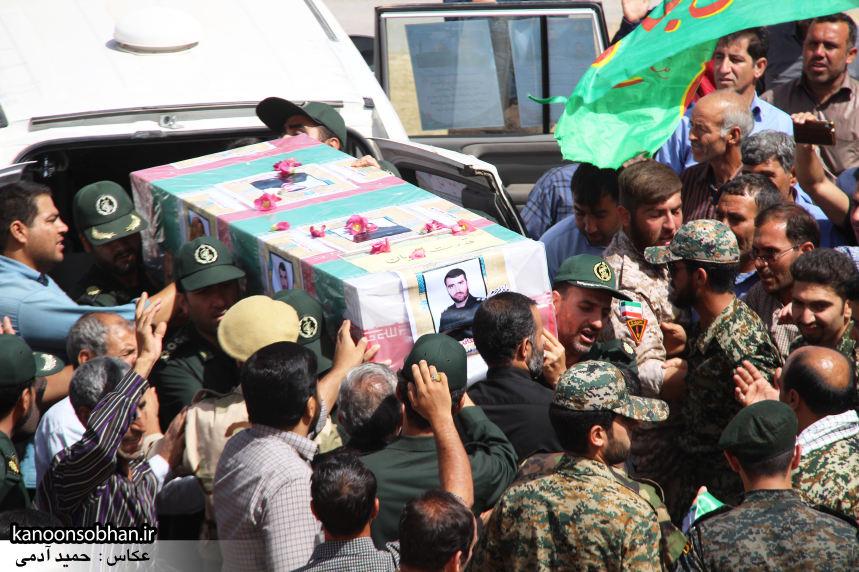 تصاویر تشییع و تدفین شهید والامقام «حاج قدرت الله عبدیان» در کوهدشت سری سوم (3)