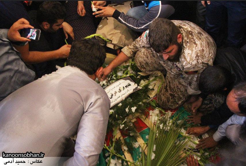 تصاویر تشییع و تدفین شهید والامقام «حاج قدرت الله عبدیان» در کوهدشت سری سوم (30)