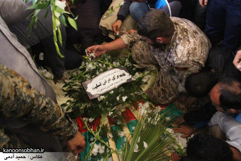 تصاویر تشییع و تدفین شهید والامقام «حاج قدرت الله عبدیان» در کوهدشت سری سوم (31)