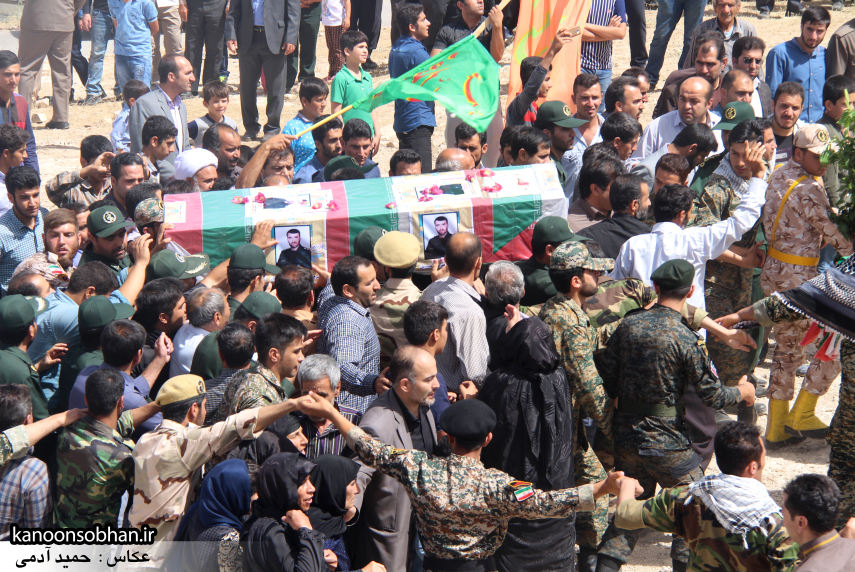 تصاویر تشییع و تدفین شهید والامقام «حاج قدرت الله عبدیان» در کوهدشت سری سوم (4)