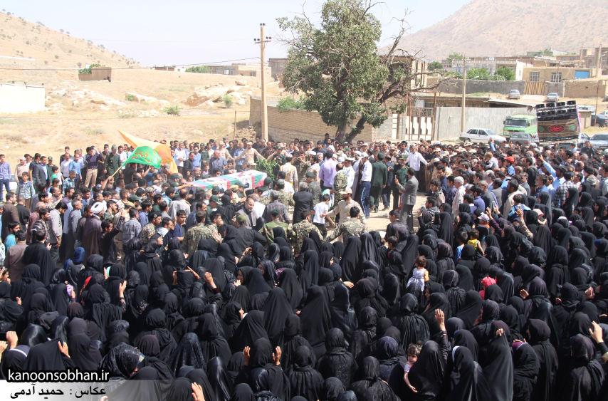تصاویر تشییع و تدفین شهید والامقام «حاج قدرت الله عبدیان» در کوهدشت سری سوم (5)