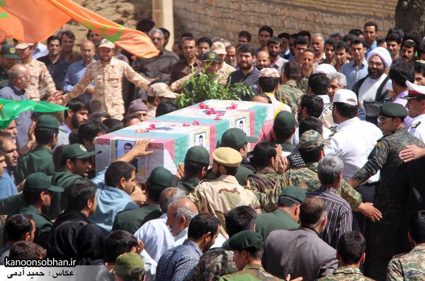 تصاویر تشییع و تدفین شهید والامقام «حاج قدرت الله عبدیان» در کوهدشت سری سوم (6)