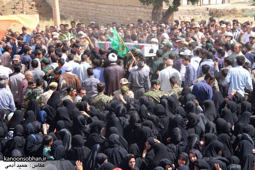 تصاویر تشییع و تدفین شهید والامقام «حاج قدرت الله عبدیان» در کوهدشت سری سوم (7)