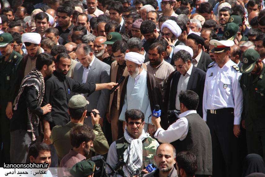 تصاویر تشییع و تدفین شهید والامقام «حاج قدرت الله عبدیان» در کوهدشت سری سوم (9)