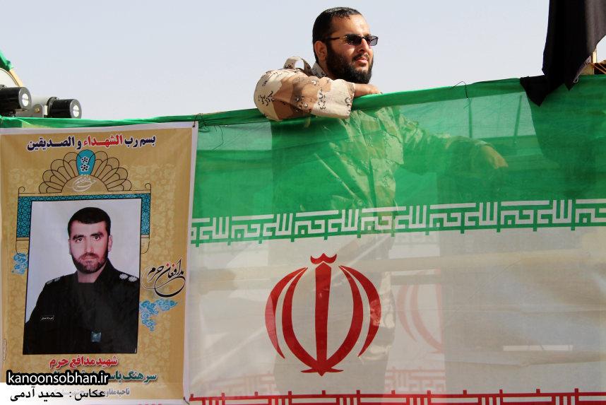 تصاویر تشییع و تدفین شهید والامقام «حاج قدرت الله عبدیان» سری اول (1)